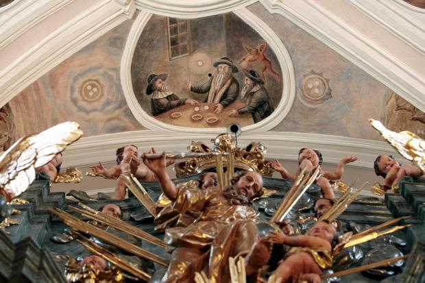 Freski z Kościoła Najświętszej Krwi Pana Jezusa w Poznaniu