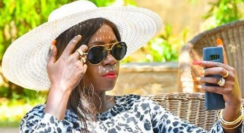 Akothee's response after claims of being pregnant with Bahati's child