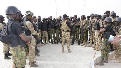 NAF arrest man for impersonation in Badagry