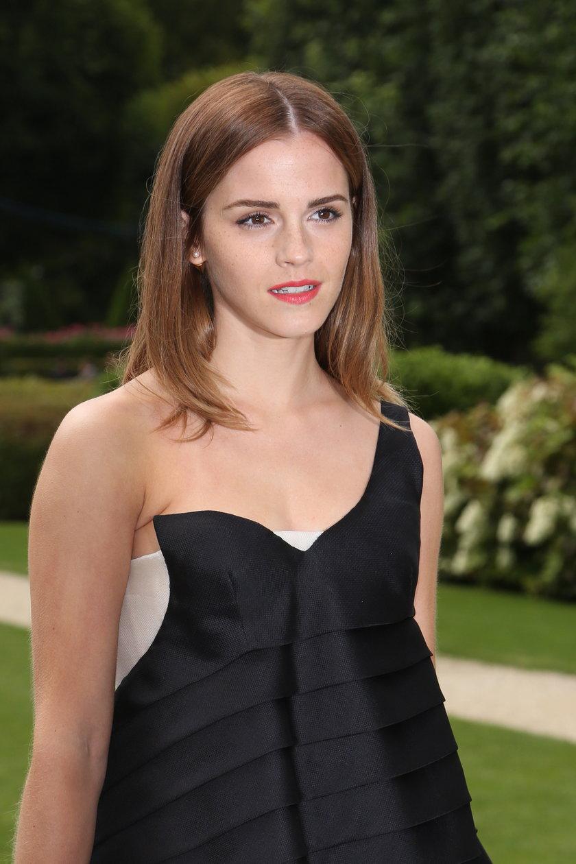 Emma Watson na pokazie Diora