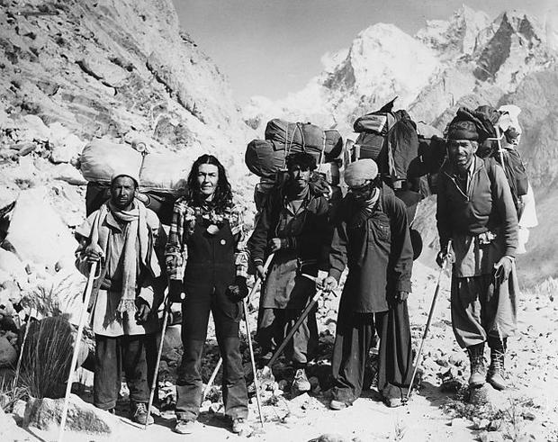 Z tragarzami, wyprawa na K2, 1982 r.
