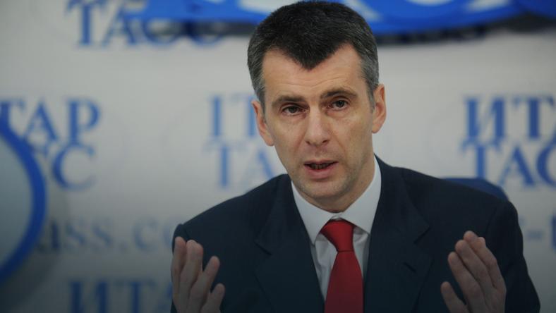 Miliarder Michaił Prochorow