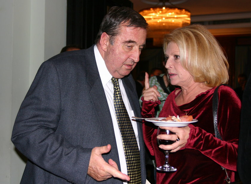 Krzysztof Kowalewski i Ewa Wisniewska