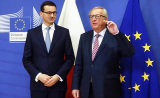 Morawiecki: Zauważyłem wyraźną zmianę retoryki u szefa KE, jeżeli chodzi o uchodźców