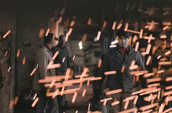Ljudi iza rešetaka: Scena iz filma