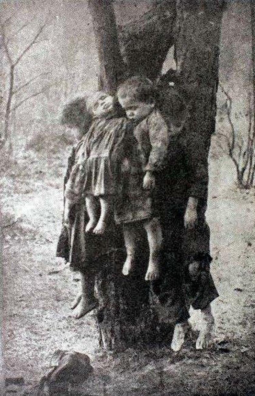 Marianna powiesiła swe dzieci. Polacy zwalili to na Ukraińców