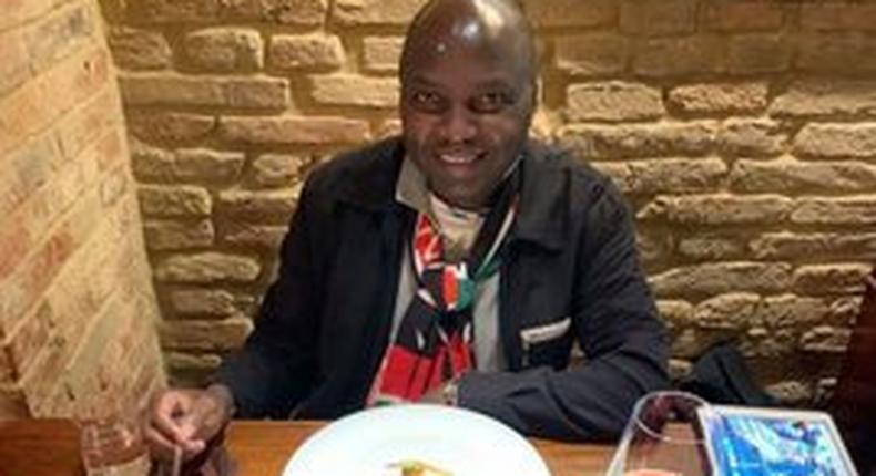 Donald Kipkorir's Sh22,000 lunch in Italy leaves many questioning his choice and appetite