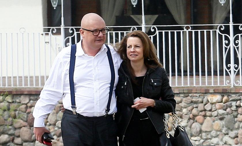 MichałKamiński i jego żona Anna