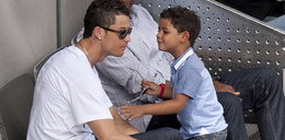 Syn Cristiano Ronaldo bohaterem w sieci WIDEO