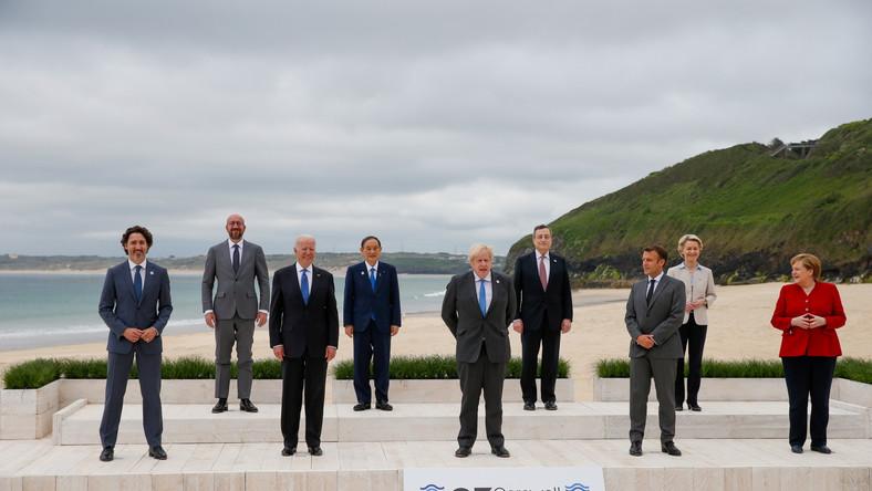 Liderzy krajów G7