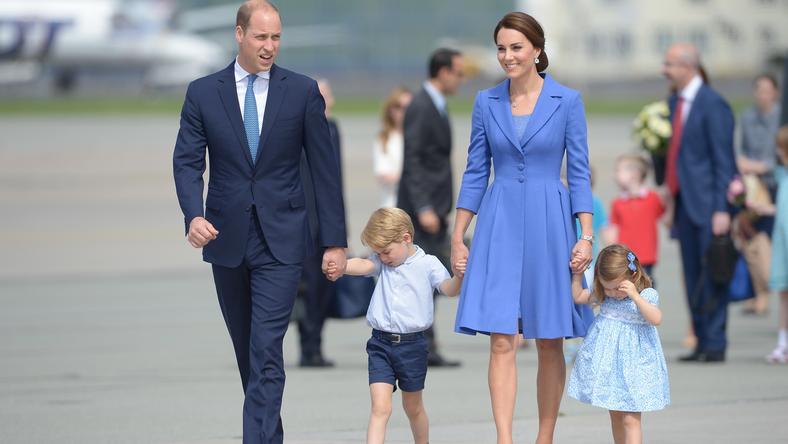 Brytyjska para książęca z Warszawy udaje się do Berlina