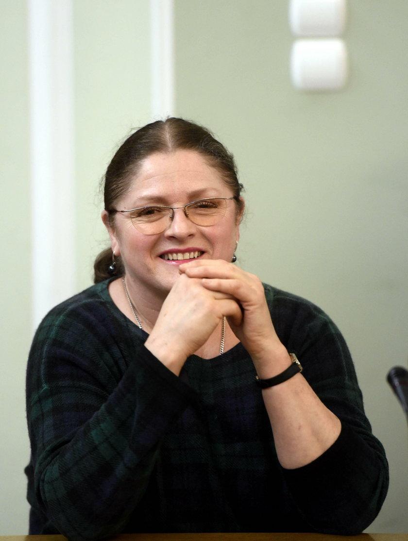 Krystyna Pawłowicz założyła konto na Twitterze