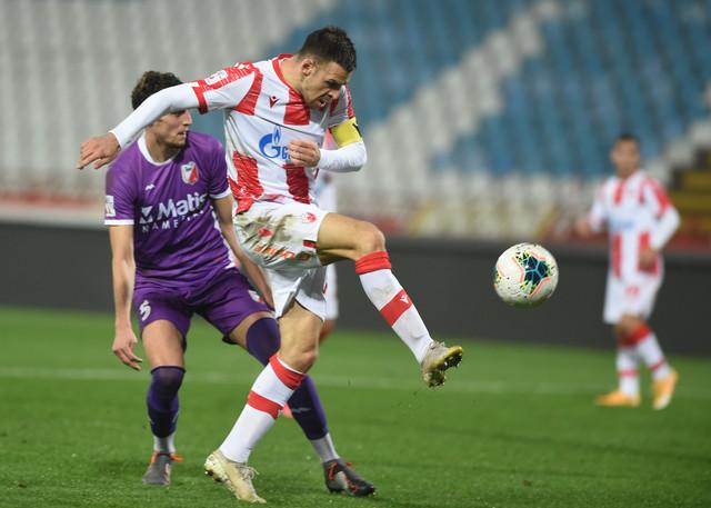 Marko Gobeljić se ozbiljno obrukao u jednom situaciji na meču Crvena zvezda - Javor