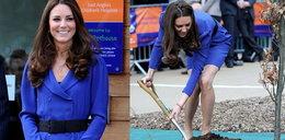 Kate pożyczyła sukienkę od mamy