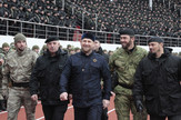 PredsednikČečenije Ramzan Kadirov (C)