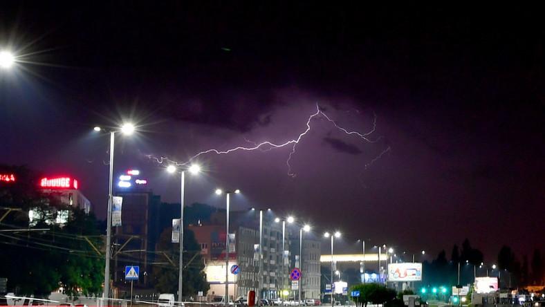 Burza w Szczecinie