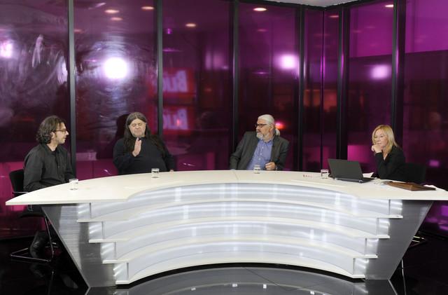Olja Bećković u emisiji uživo na sajtu Blic.rs