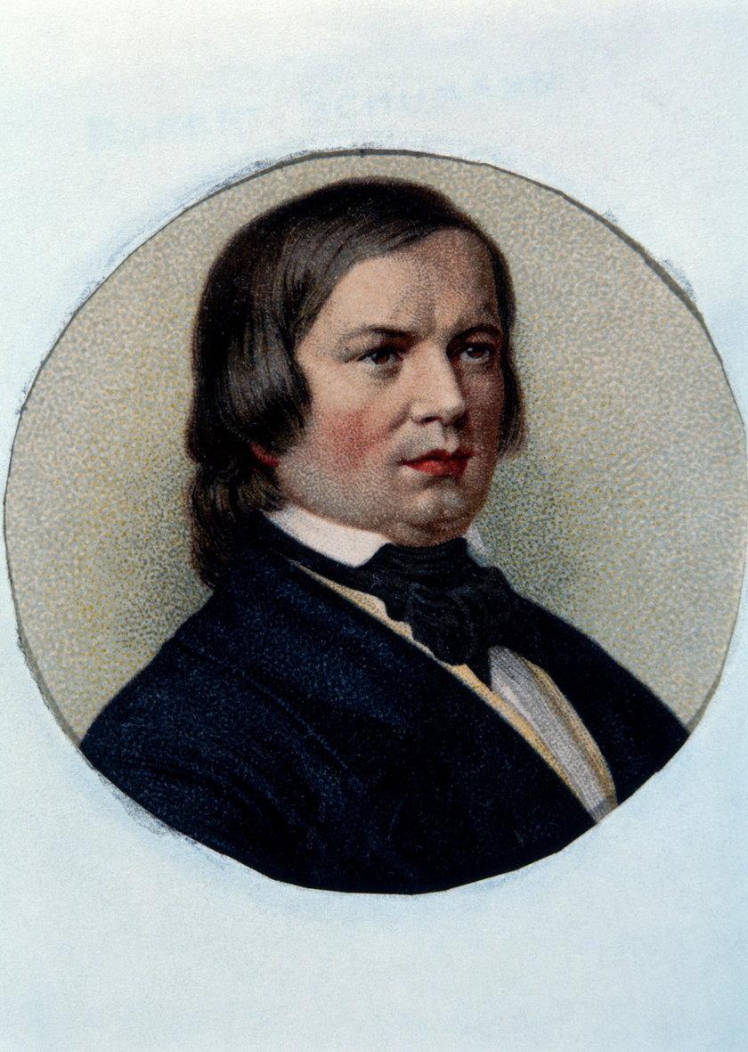 Niemiecki kompozytor Robert Schumann
