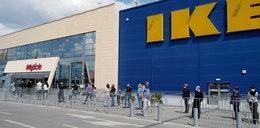 Niepokojące sceny przed IKEA. Nagranie tłumów mówi samo za siebie