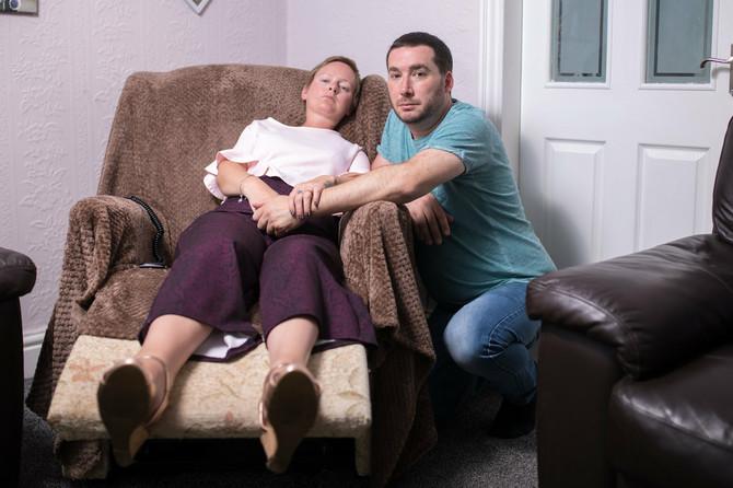 Rejčel sa suprugom
