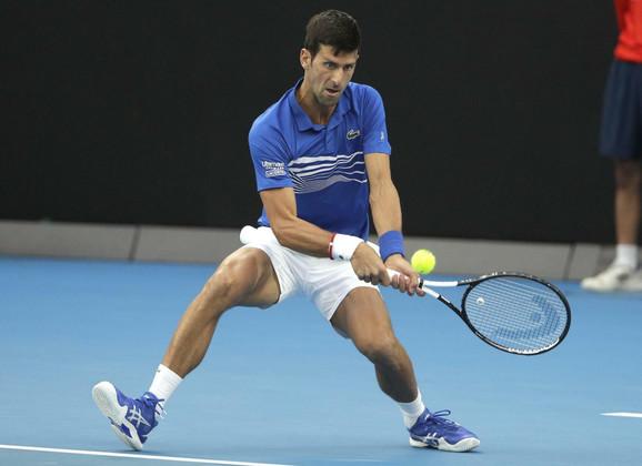 Novak Đoković tokom polufinala