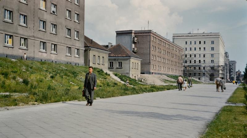 Warszawa na archiwalnych zdjęciach prof. Johna Repsa, 1959 r.