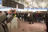 Kurdi, Turci, tuča, aerodrom Hanover, sc youtube