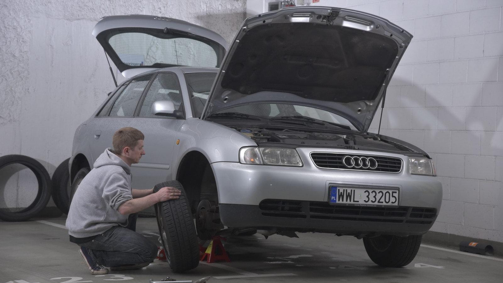 Samodzielnie Serwisujemy Audi A3 I 18