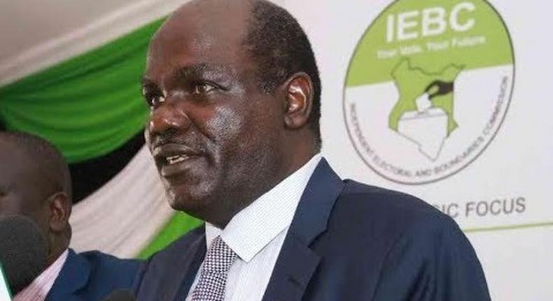 IEBCE Chairman Wfula Chebukati. His workers have been cancelled from the jubilee insurance medical cover