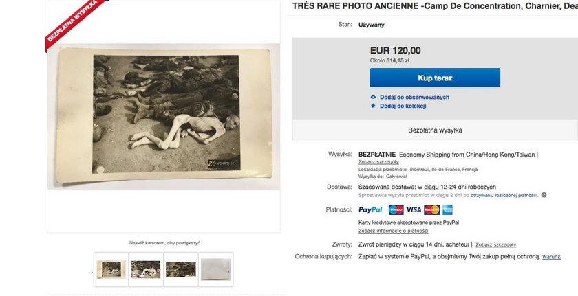 Skandal! Handlują pamiątkami po byłych więźniach Auschwitz