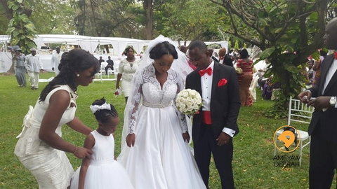 Naa Ashorkor and Husband