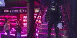 Nalot policji i sanepidu na nocny klub. ZDJĘCIA z akcji
