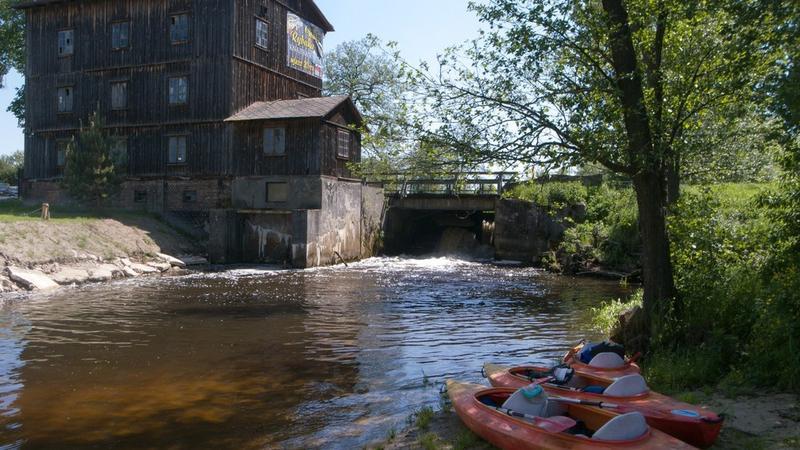 Spływ kajakowy rzeką Wieprz na odcinku Hutki - Krasnobród