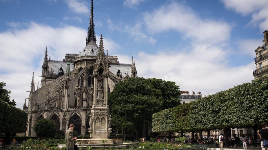 Notre Dame przed pożarem