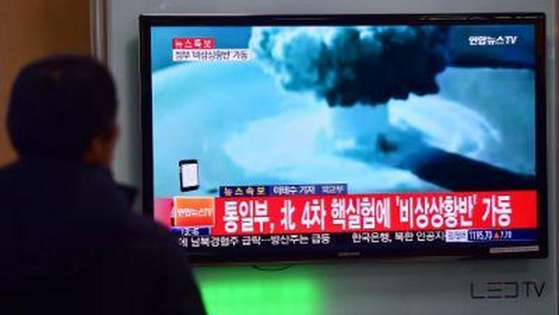 Japan protests N.Korea test, to confer with US, S.Korea, Russia