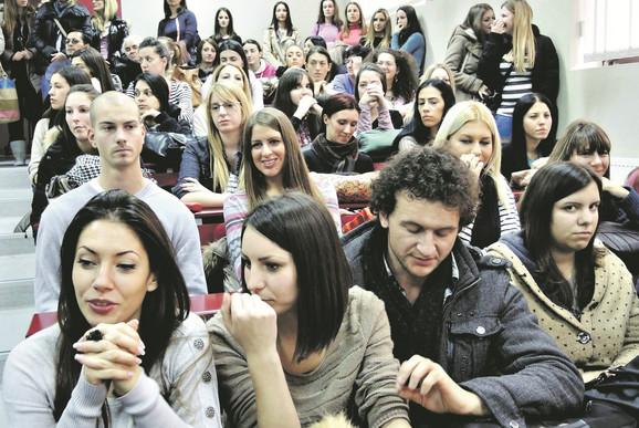 Studenti Učiteljskog fakulteta u Užicu