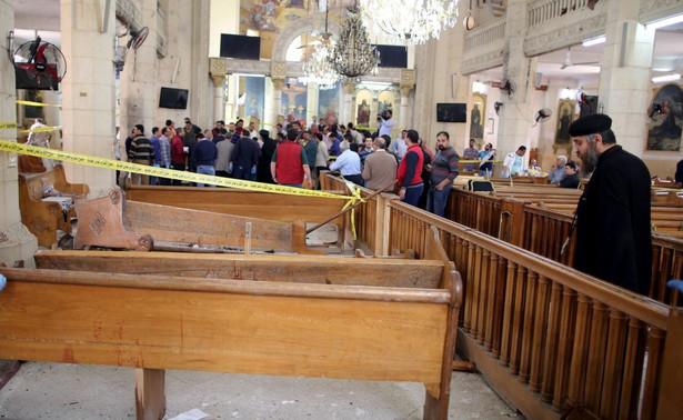 Zamach na koptyjski kościół