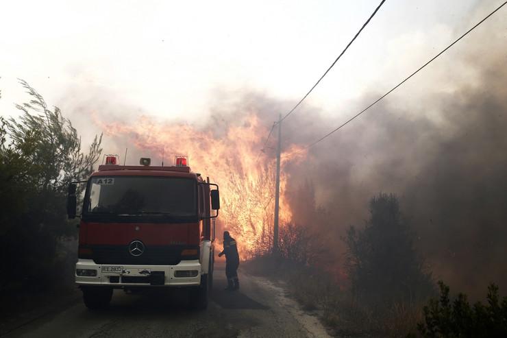 Grčka požar