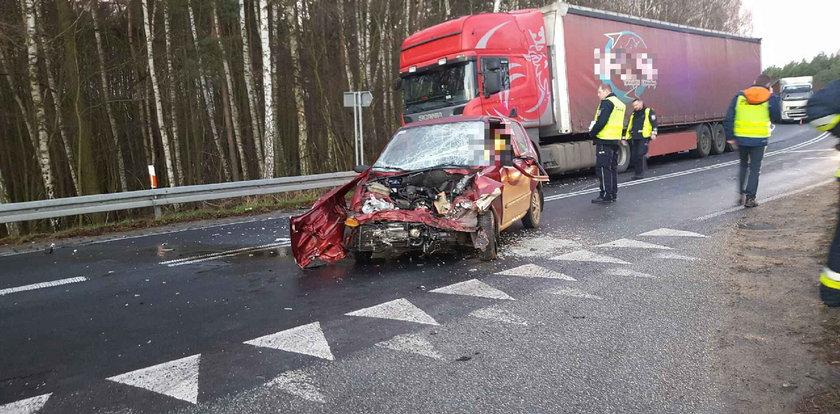 Kierowca zginął przed świętami