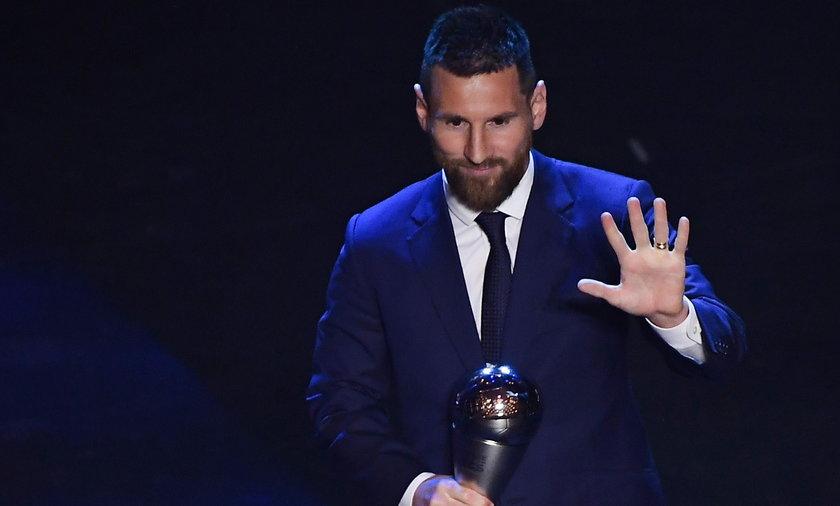Lionel Messi na gali FIFA