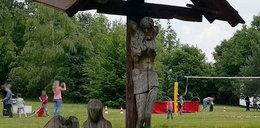 Ukradł figurę Jezusa. Później to zrobił