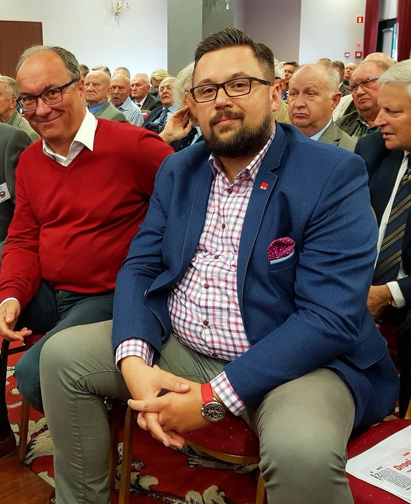 Włodzimierz Czarzasty i Marcin Kulasek