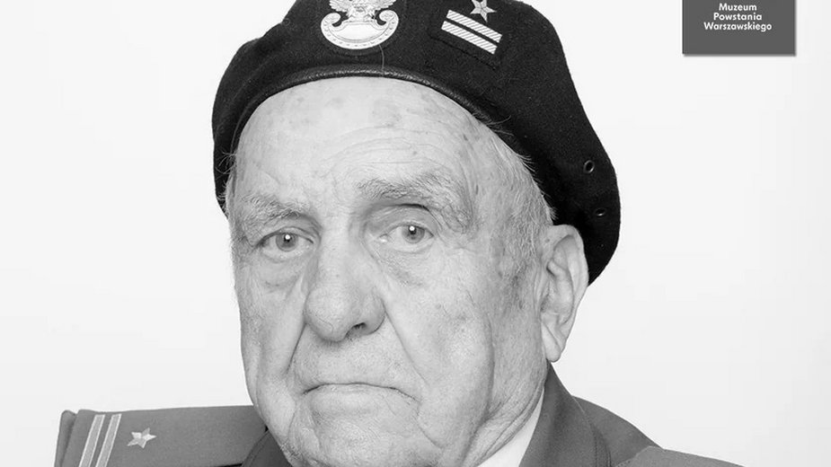 Zmarły płk Henryk Filipski ps. Jeremi