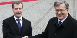 Komorowski i Miedwiediew razem w Katyniu