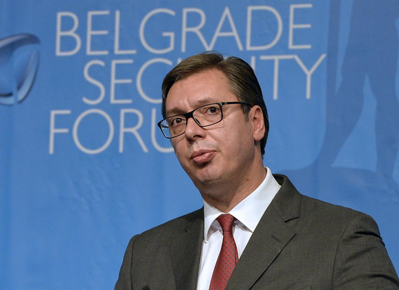 Aleksandar Vučić na Beogradskom bezbednosnom forumu danas