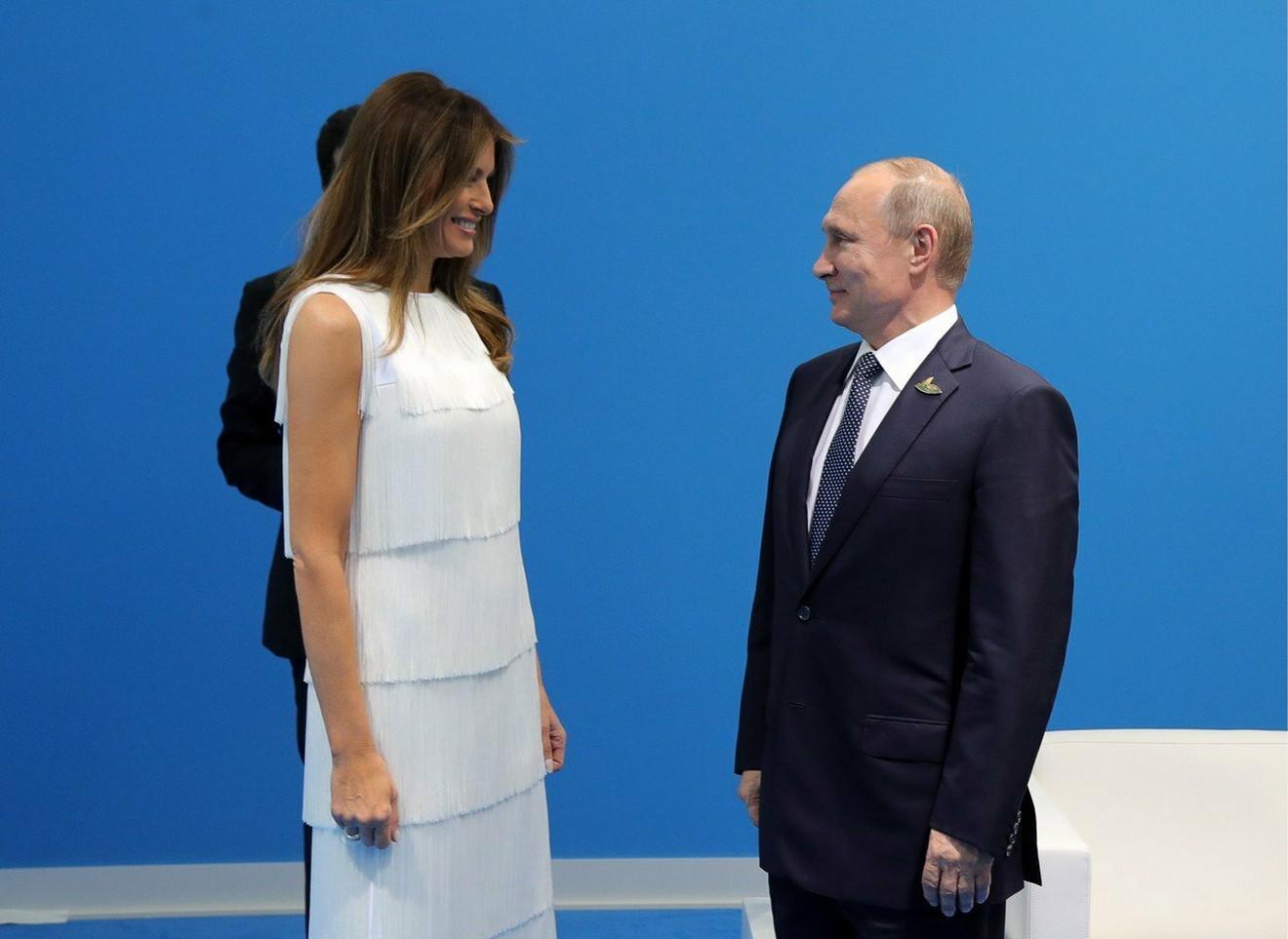 Melanija sa Putinom