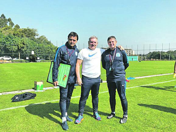 Slobodan Marović, Ivan Popović i Dragan Stojković Piksi