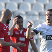 JUNAK PARTIZANA Đorđe Ivanović srećan zbog golova, a žali zbog jedne stvari