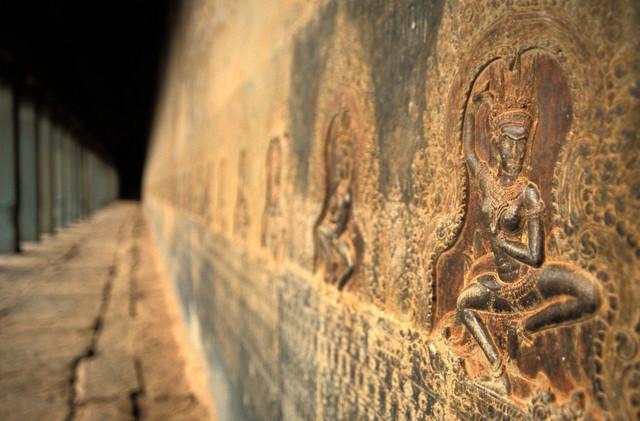 Angkor Vat je pun reljefnih prikaza