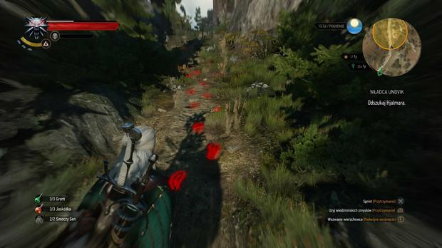 Wiedźmin 3: Dziki Gon - Geralt na tropie